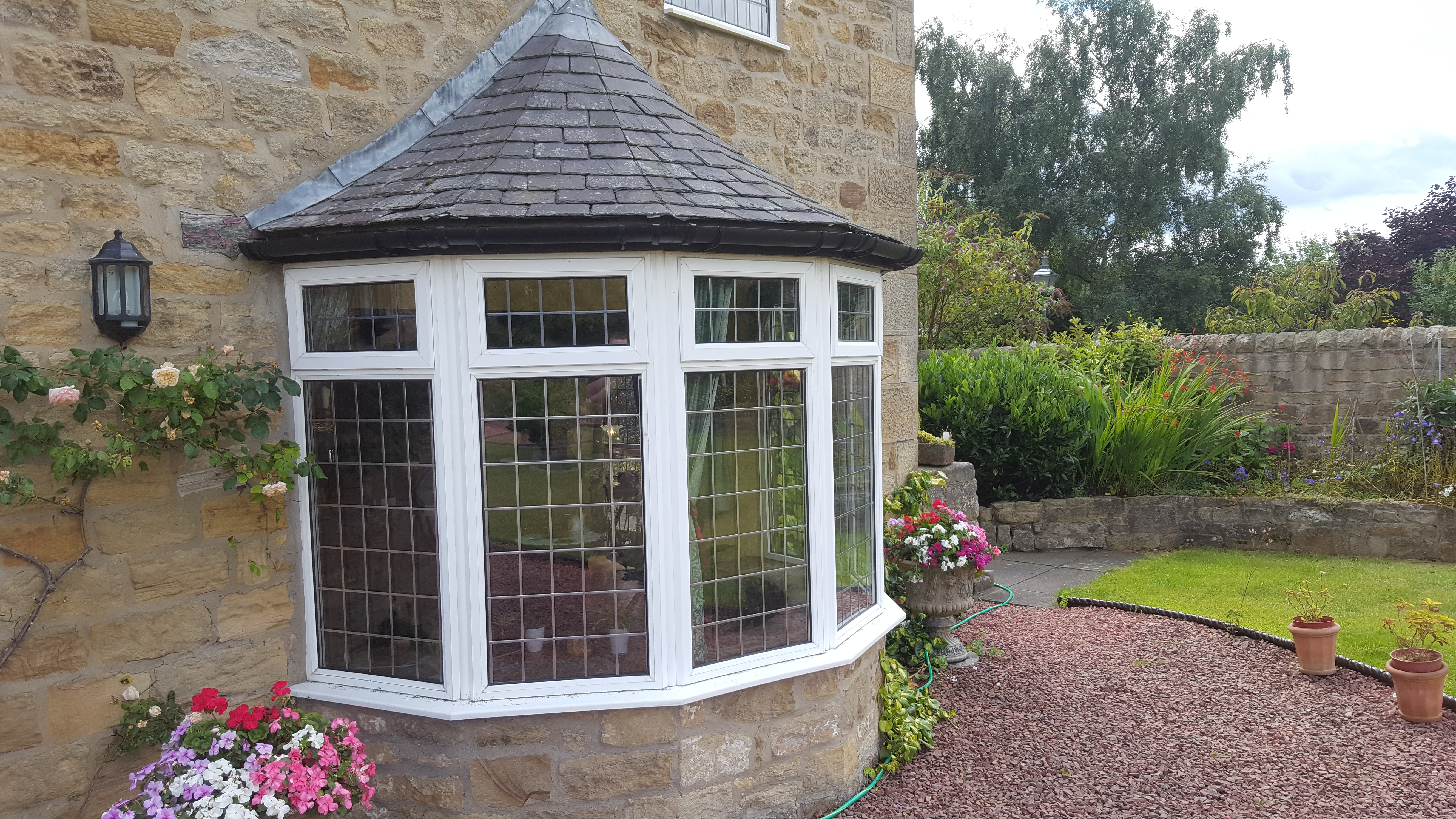 Cloudy glass replaced in Northumberland