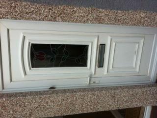 UPVC Door letterbox changed
