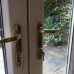 UPVC french doors repaired