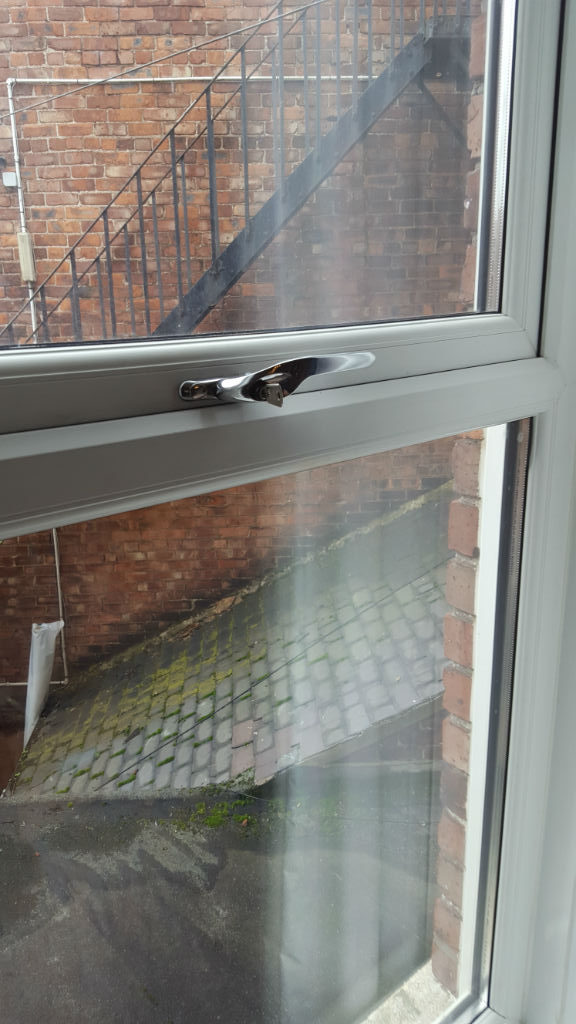 Window handle repaired North shields