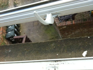 Jammed window repaired in Whitley bay Tyne and wear