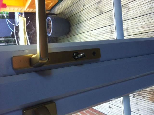 UPVC window handle repair wallsend