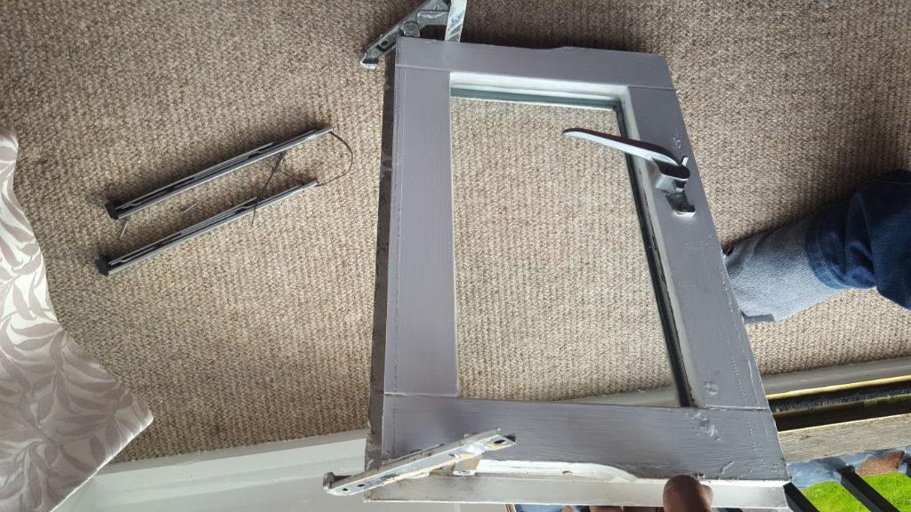 Window hinges repaired in Gateshead
