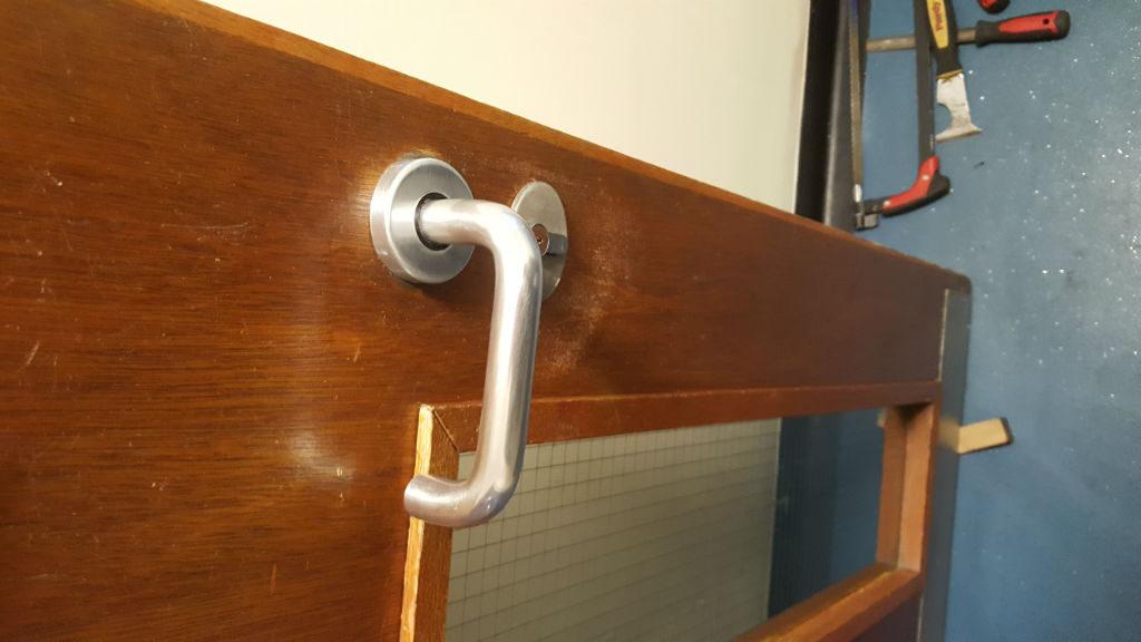 Door handles replaced in Wallsend