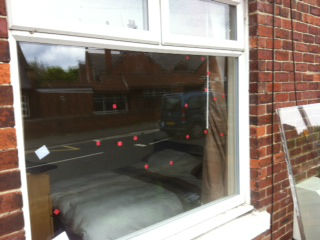 Glass repaired in Newcastle upon Tyne Glazier near me