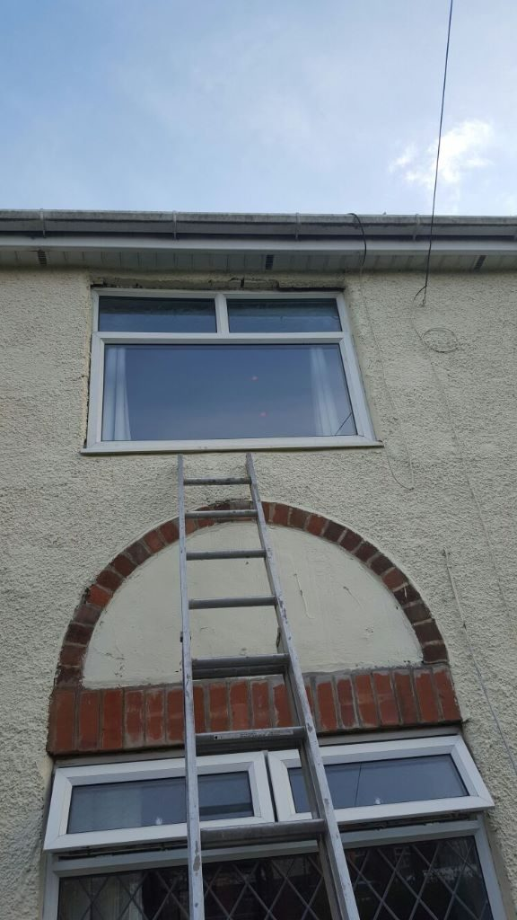 Glass replaced in window in South shields
