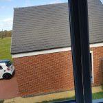 BEFORE UPVC window repair in Great park Gosforth Newcastle