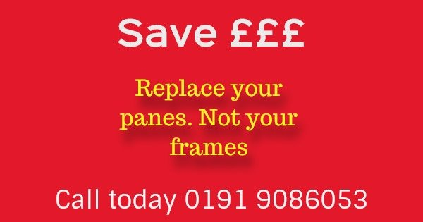 Replace failed double glazing newcastle upon tyne