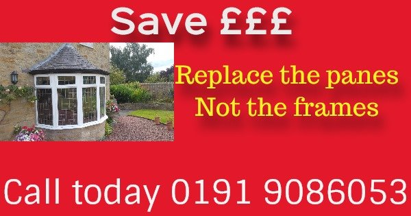 Replace double glazing North east
