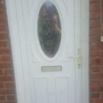 UPVC door panel replaced North shields