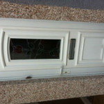 UPVC Door letterbox changed