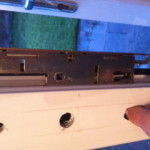 UPVC door lock repaired in Whitley bay
