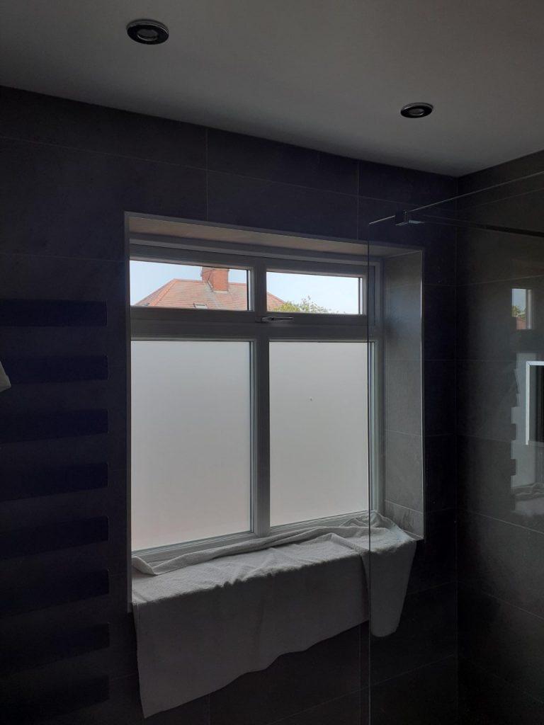 Bathroom window replacement gosforth
