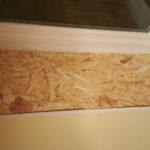 window board up