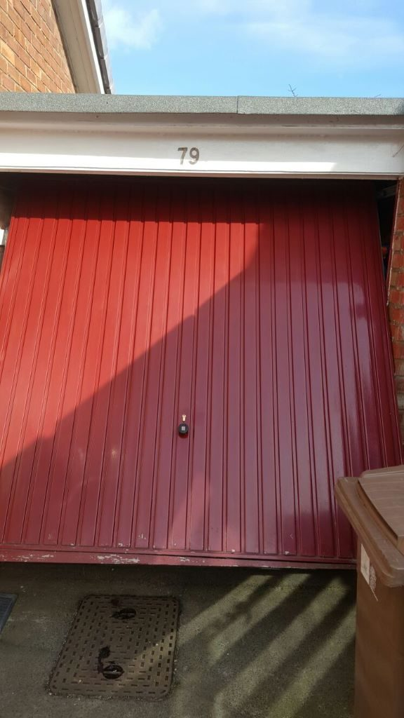 Garage door repaired Whitley bay