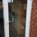 UPVC door fitted cat flap Wallsend