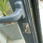 Aluminium door repair Wallsend