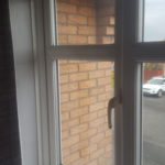 Smashed double glazing repair in Wallsend