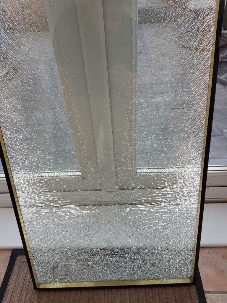 Smashed window replaced Wallsend