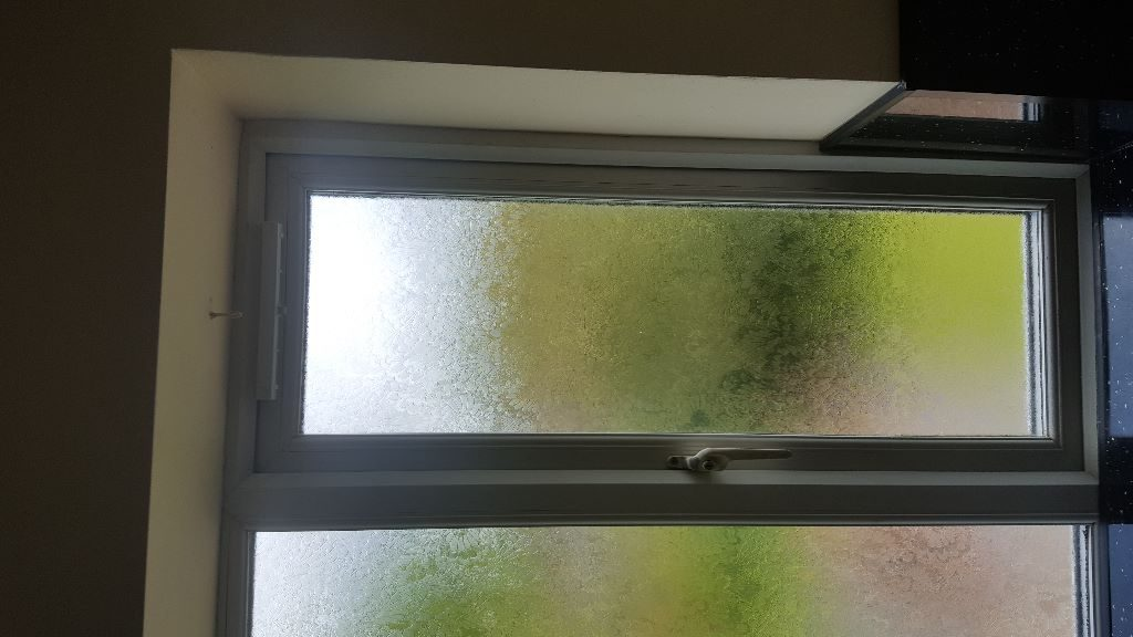 Trickle vent fitted to UPVC window in Newcastle upon Tyne