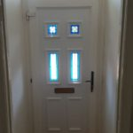 UPVC door panel repaired in North shields