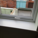 UPVC window handle repaired Whitley bay