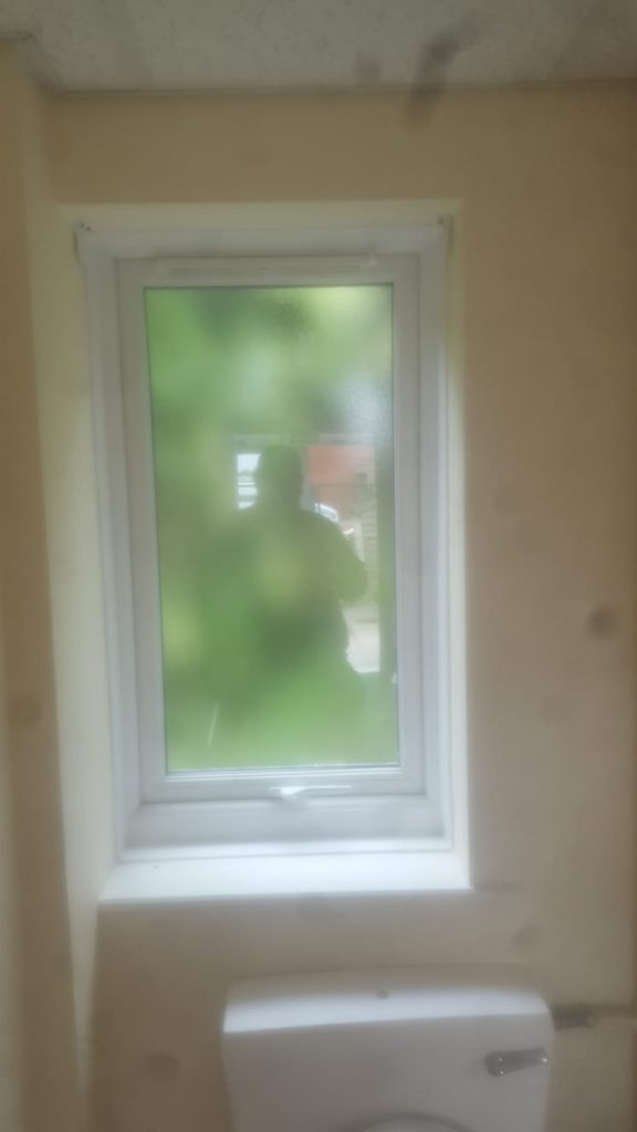 Smashed window repaired in North shields