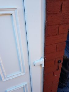 UPVC door hinge replaced in Wallsend