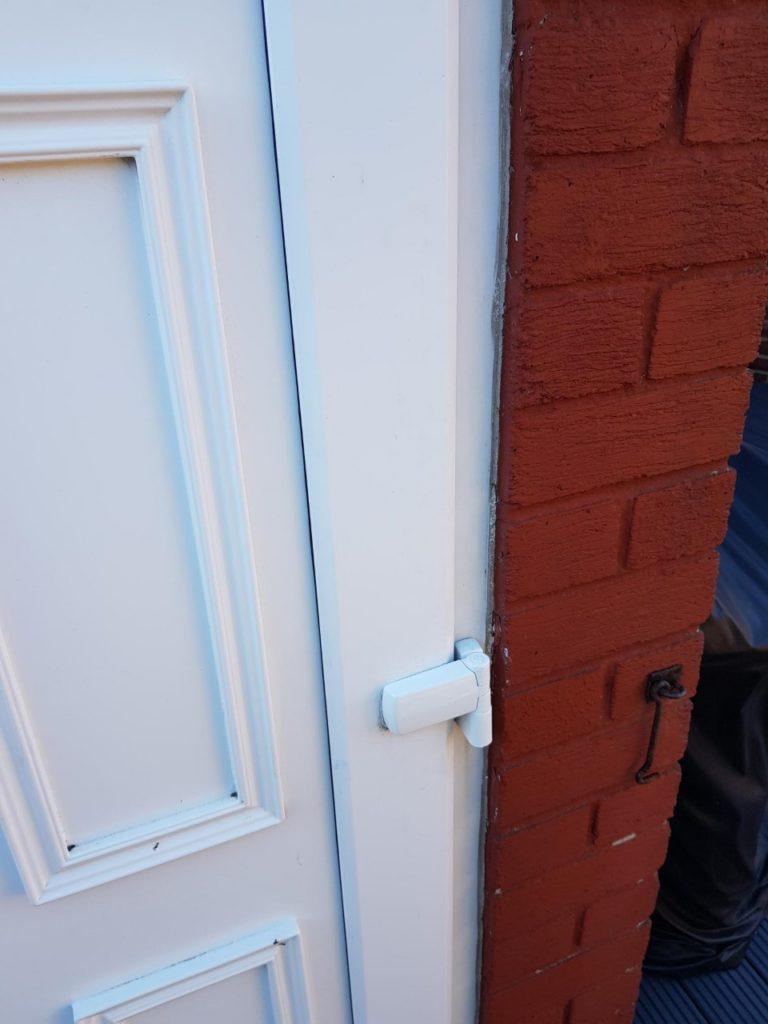 UPVC door hinge replaced in Wallsend