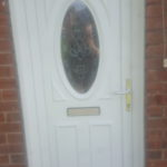UPVC door panel replaced North shields