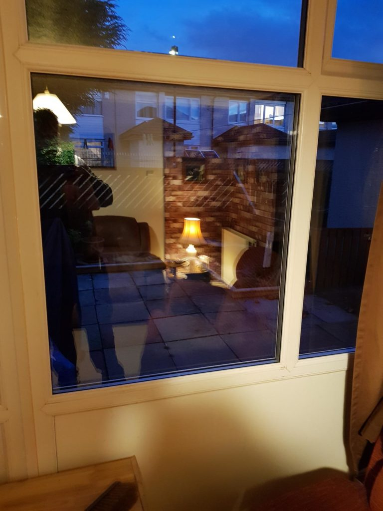 Double glazing repaired Glass