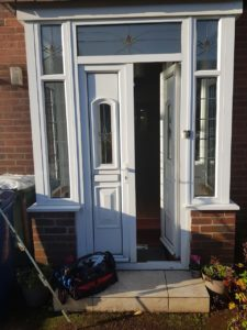 UPVC door repaired Newcastle upon Tyne
