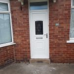 New door fitted Newcastle