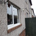 Smashed windows replaced Durham